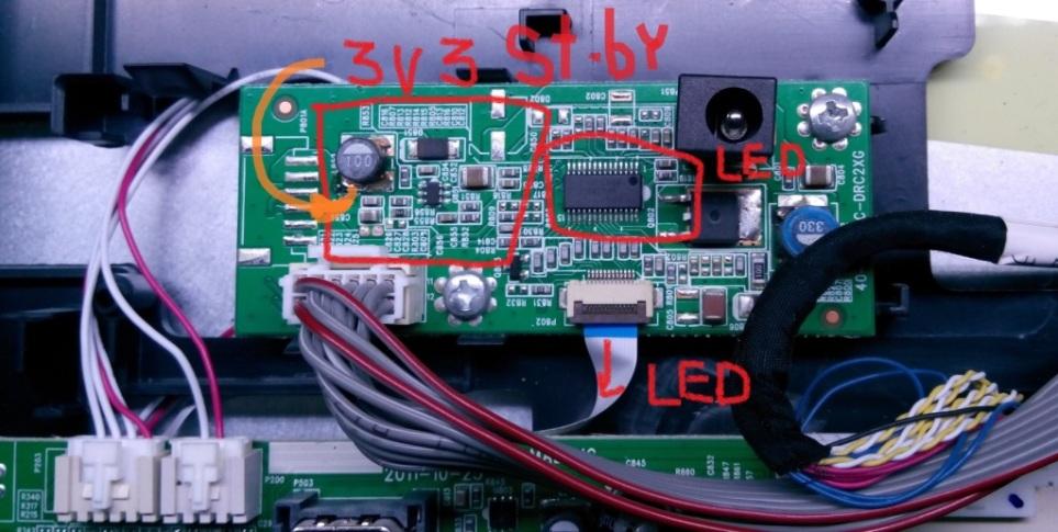 TCL 19D20_40-MS8200-MAD2XG, Flash 25Q32 - TCL - KenotronTV