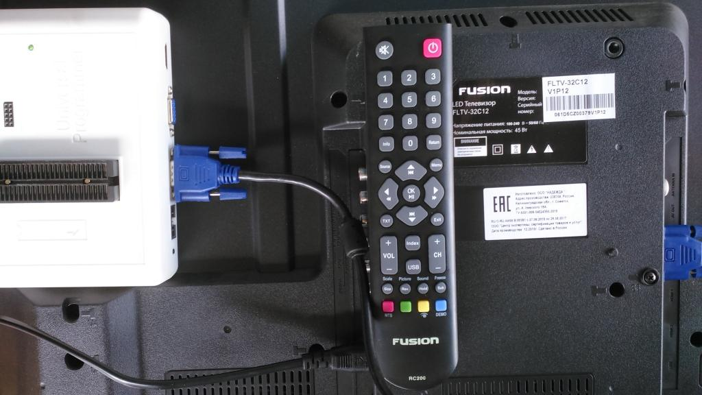 FUSION FLTV-32C12, TP MS1306.PB771, MS306PS, LVW320CS0T