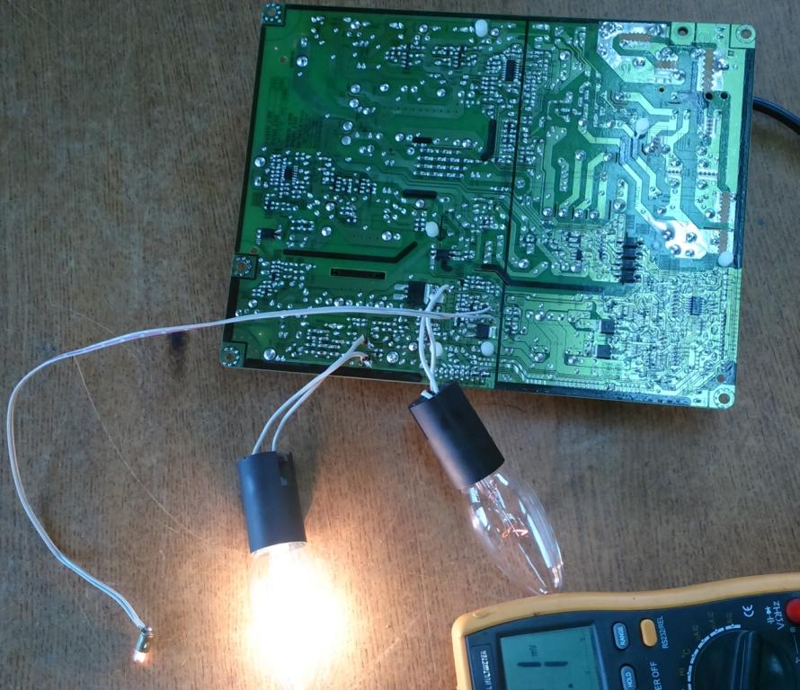 Power Board LCD, PDP TV способы включения без майн.