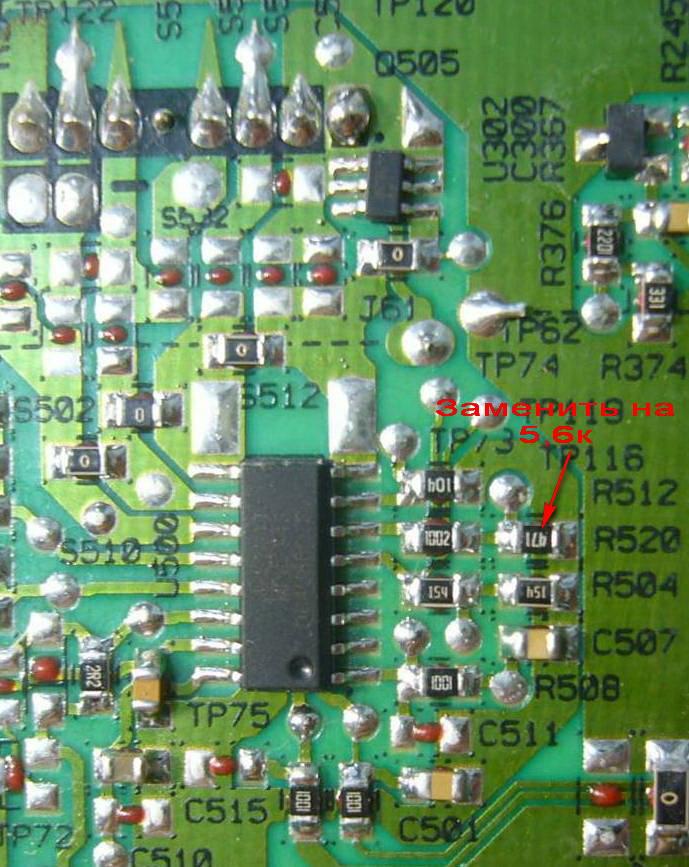 Доработка PSU (уменьшение тока подсветки) разных моделей TV.