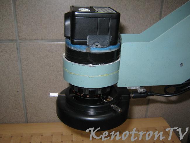 Микроскоп из подручных материалов