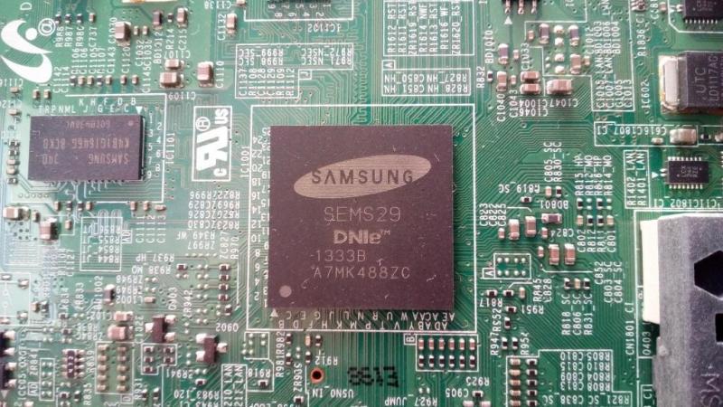 Samsung UE42F5000AKXRU - Изображение вверх ногами